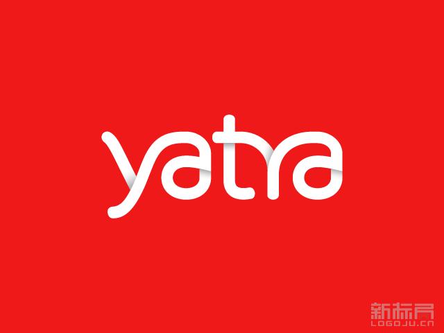 印度旅游网站Yatra新标志logo启用