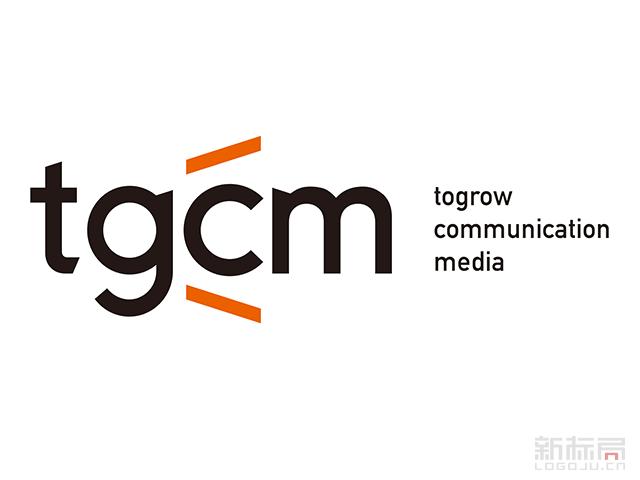 山东通广传媒tgcm标志logo