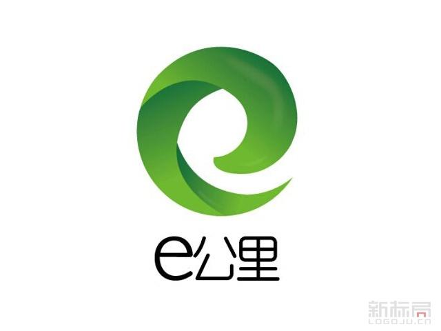 e公里休闲餐厅标志logo