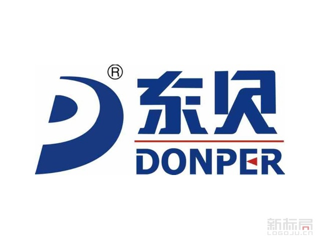 黄石东贝冰淇淋机器有限公司标志logo设计