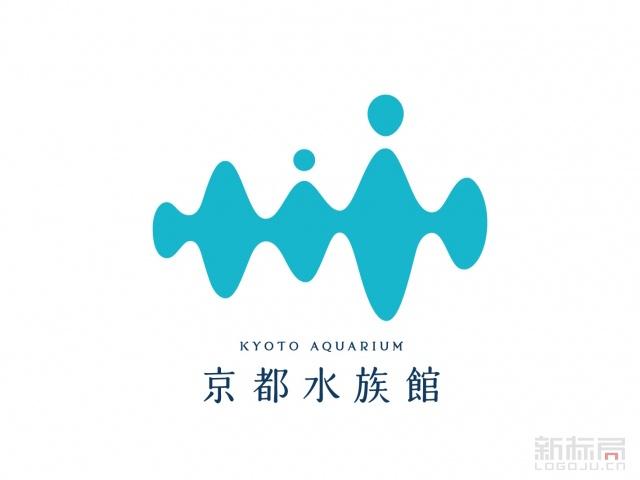 日本京都水族馆标志logo