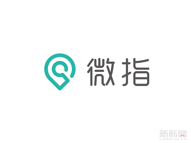 微指定位于O2O的综合性开放服务平台标志logo