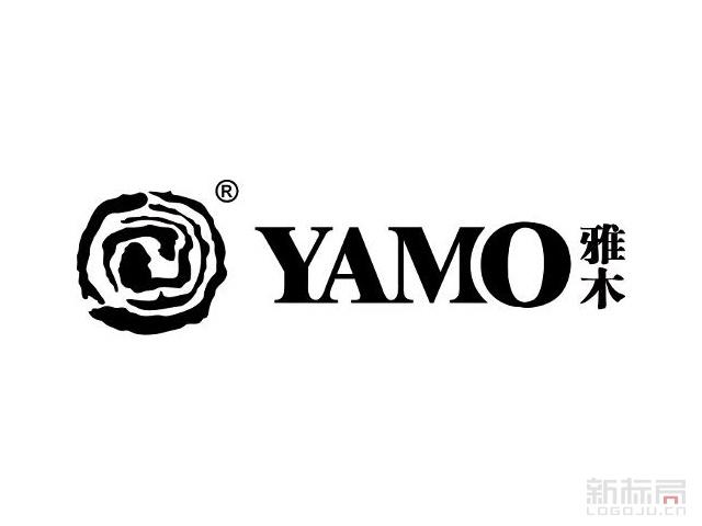 yamo雅木家具品牌标志logo
