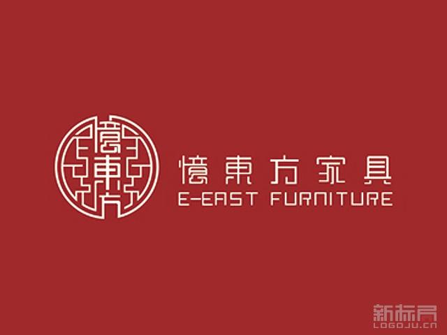 忆东方家具品牌标志logo
