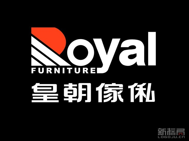 香港皇朝傢俬家居品牌标志logo