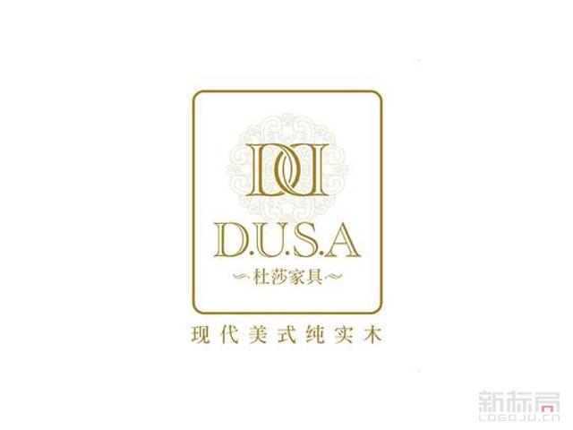 杜莎家具深圳新福牌家具旗下家居子品牌标志logo
