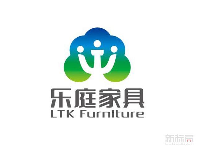 乐庭家具品牌标志logo