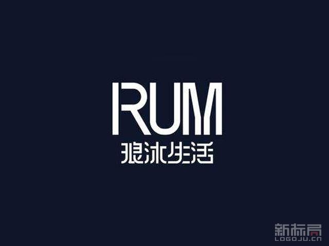琅沐生活家居品牌标志logo