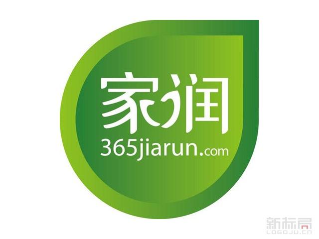 青岛同城网购平台家润365jiarun.com标志logo