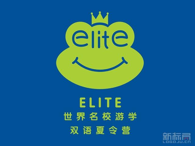 ELITE世界名校游学双语夏令营标志logo