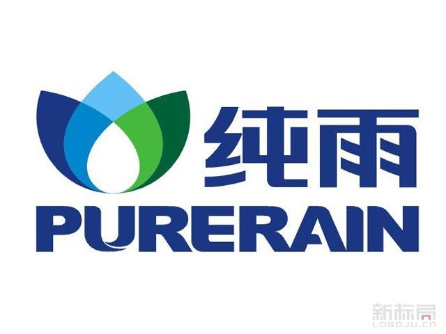 PURERAIN纯雨不锈钢管业标志logo