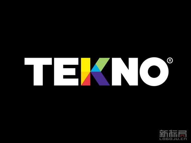 "秘鲁油漆品牌"" Tekno""新标志logo"