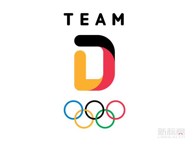 德国奥运代表队新队徽标志logo