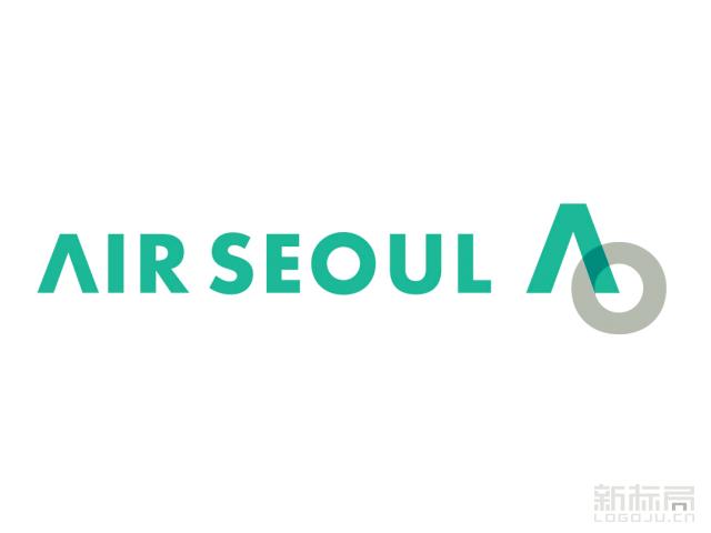 韩国廉价航空公司-首尔航空Air Seoul标志logo