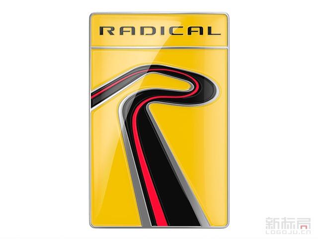 全球最大赛车制造商Radical标志logo