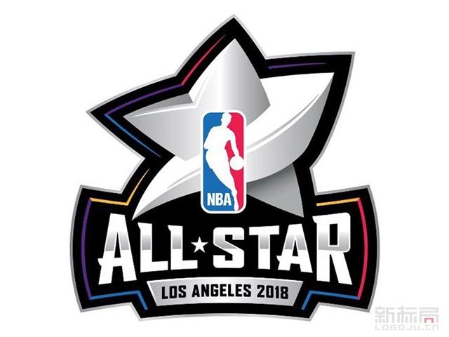 2018年洛杉矶全明星赛标志logo