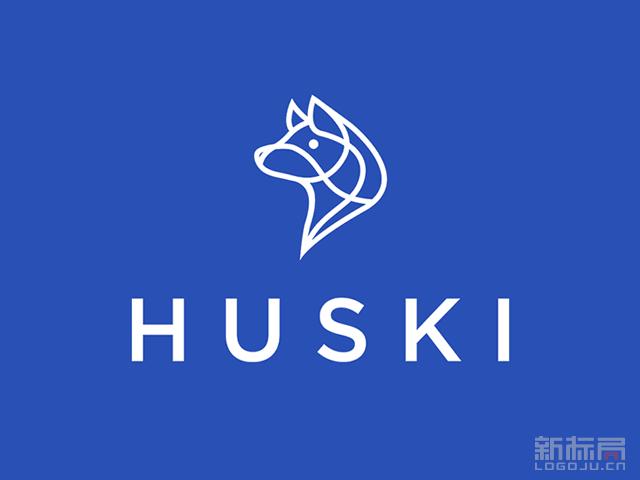 法国快递Huski公司新标志logo