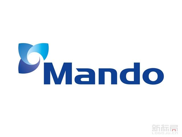 韩国Mando汽配标志logo