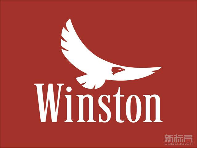 云斯顿Winston香烟品牌标志logo