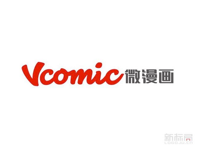 新浪动漫旗下品牌微漫画标志logo