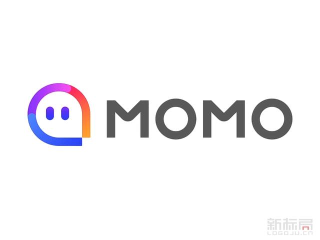 """移动社交平台""""陌陌""""新标志logo"""