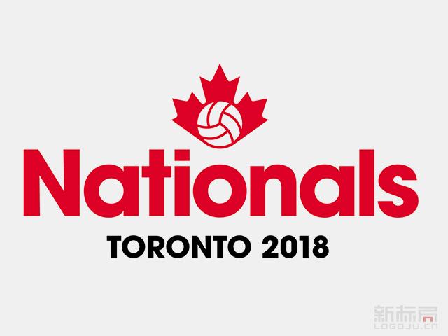 加拿大排排球协会Volleyball Canada新标志logo