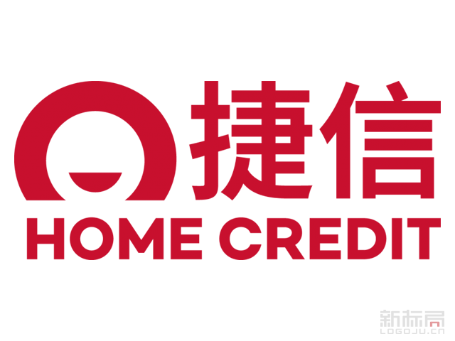 """""""捷信 """"消费金融公司标志logo"""