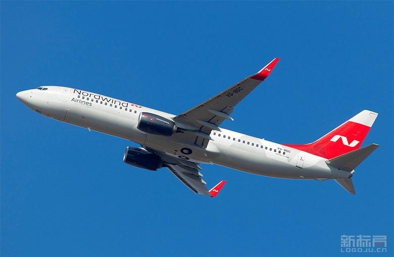 北风航空公司Nordwind Airlines新标志logo