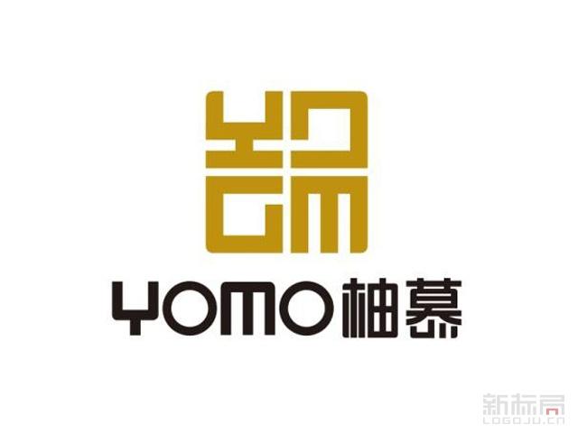 yomo柚慕家具标志logo