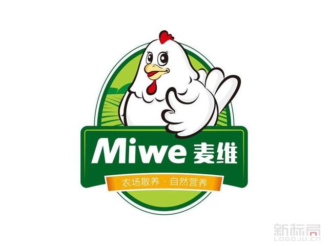 麦维土鸡蛋微商城标志logo