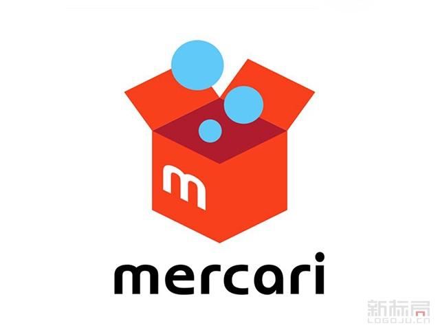 mercari日本C2C二手交易平台标志logo