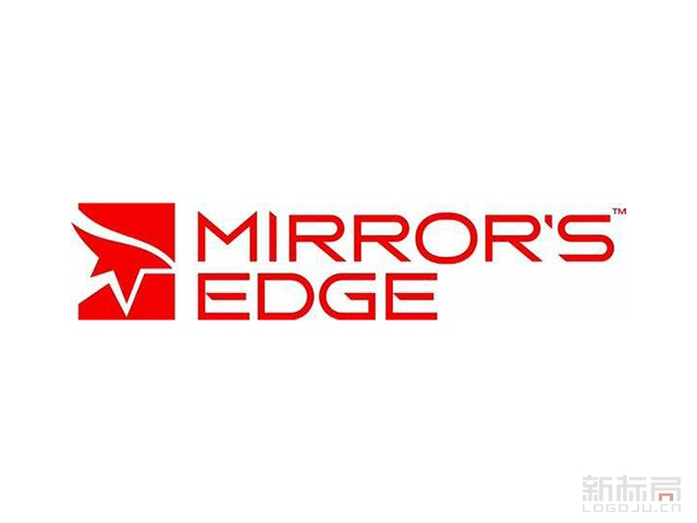 mirror's edge美国DICE公司研发游戏logo