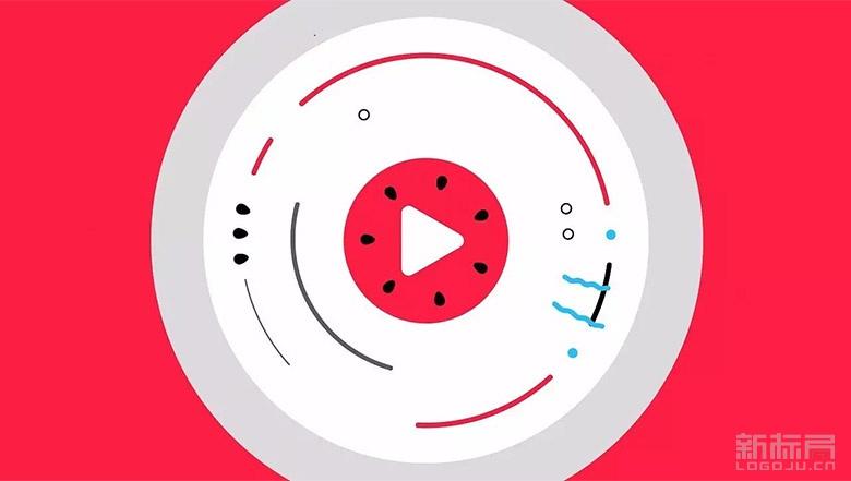 """头条视频更名""""西瓜视频""""新标志logo"""