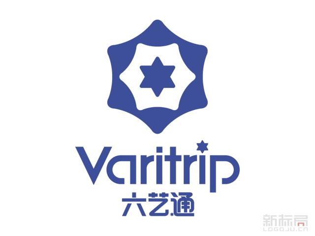 六艺通Varitrip境外旅游分销平台标志logo