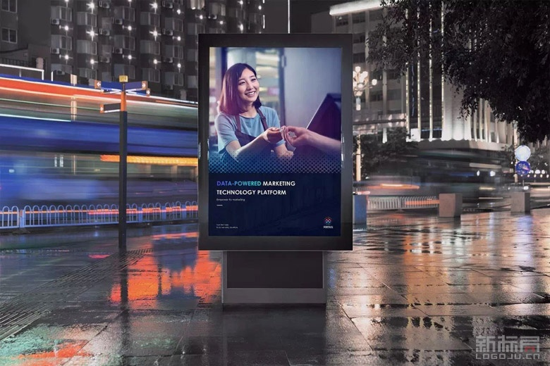 """阿里巴巴旗下大数据营销平台""""阿里妈妈""""2017新标志logo"""