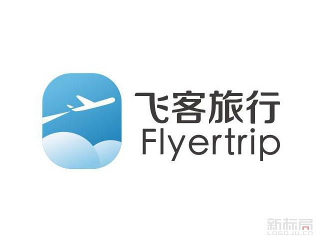 飞客人旅行flyertrip标志logo