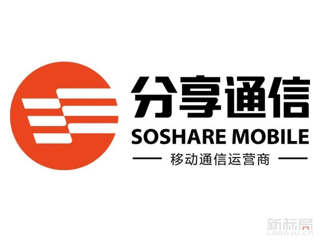 分享通信标志logo