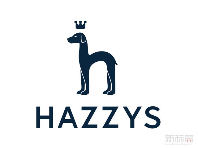 韩国著名服装品牌哈吉斯HAZZYS2017新标志logo