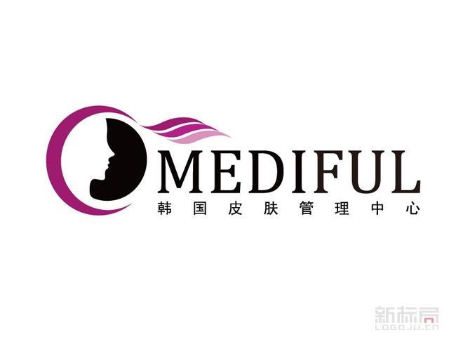 mediful韩国皮肤管理中心标志logo