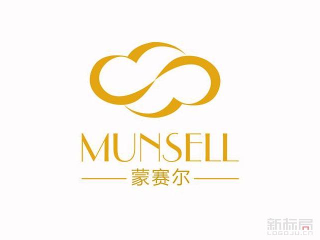 蒙赛尔munsell服饰品牌标志logo