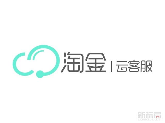 淘金云客服专业客服众包平台标志logo