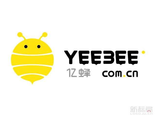 yeebee亿蜂企业服务B2B交易平台标志logo