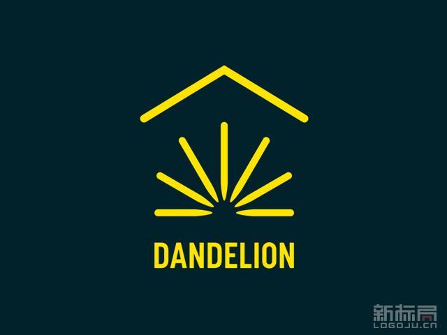 谷歌成立家庭地热系统Dandelion 蒲公英品牌标志logo