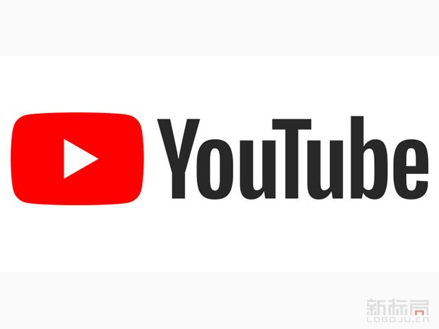 全球最大视频分享网站YouTube2017新标志logo