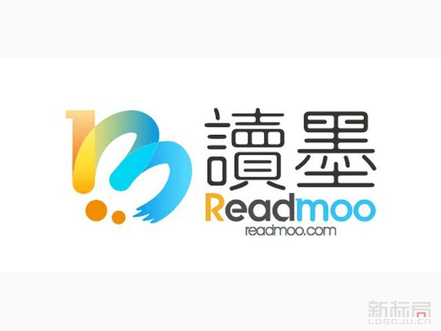 台湾省最大繁体中文电子书平台Readmoo新标志logo
