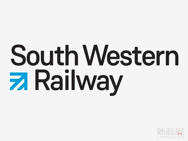 英国西南铁路SWT标志logo