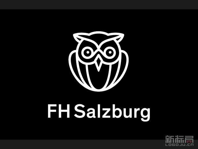 奥地利萨尔茨堡应用科技大学新校徽标志logo