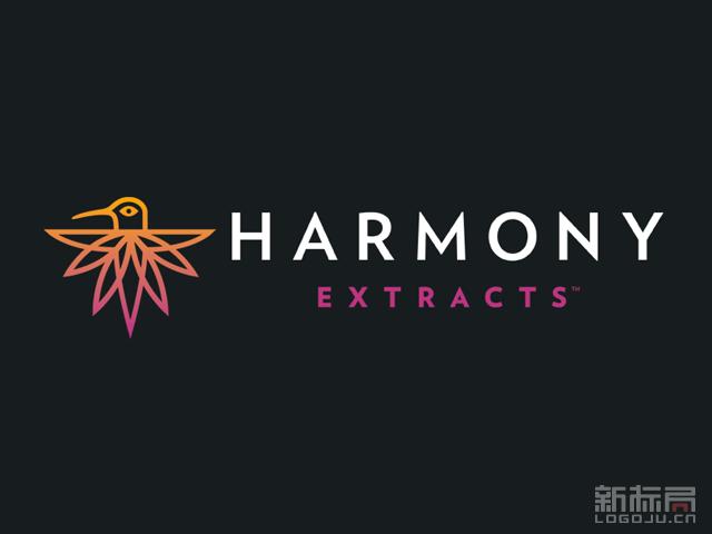 大麻浓缩物制造品牌Harmony Extracts标志logo