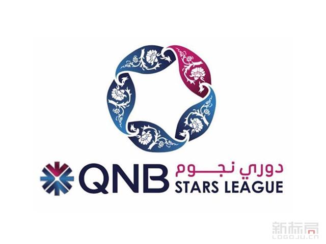 卡塔尔QNB星级足球联赛STARS LEAGUE新标志logo