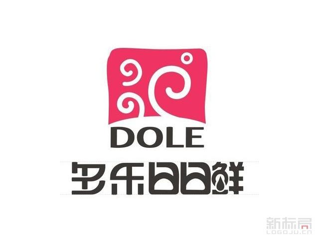 多乐dole日日鲜烘焙品牌标志logo